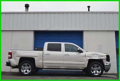 2015 Chevrolet Silverado 1500 LTZ Repairable Rebuildable Salvage Runs Great Project Builder Fixer Easy Fix Save