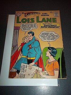 Superman's Girlfriend Lois Lane #20, Supergirl Cover/Story, 10 cents, 1960, $460