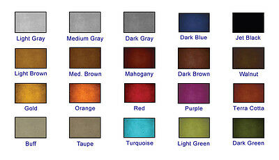 1 Gallon Acetone Based Concrete Dye decorative concrete projects in 20 colors