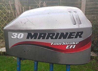 Mariner 30hp efi Outboard lid cowling