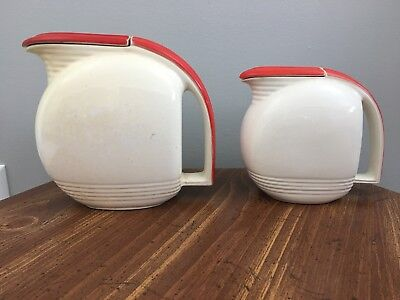 Viktor Schreckengost  1942 Jiffy Ware Pitchers Antique Sebring OH