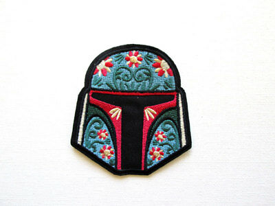 Star Wars Boba Fett Embroidered and Iron on Patch