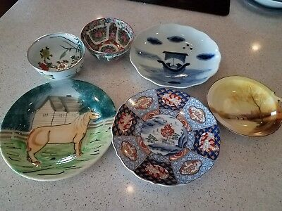 Vintage Chinese Plates and Bowls