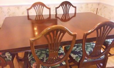 Dining room set by White Furniture Company