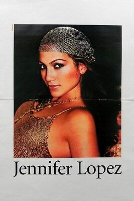 Jennifer Lopez Poster + Red Hot Chili Peppers Poster on back