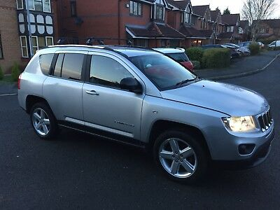 Jeep Compass 2011 2.2 CRD Limited 67,000 miles Sat Nav Leather 4x4