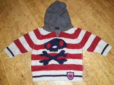 Baby Boys Knitted Jumper Age 6-9 Months