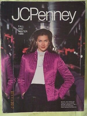 Vintage JC PENNEY 1980 Fall & Winter Catalog, 1,488 Pages to Help Reminiscence