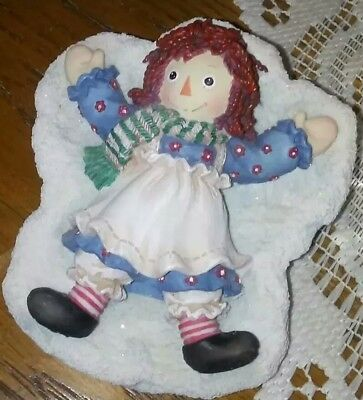 """Enesco Raggedy Ann & Andy Collectible  Figurine""""there's No Other Angel Like You"""""""