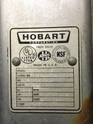 Hobart Saw Machine Model 5700
