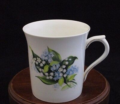 Queen's by Rosina China Co. Ltd. Lily of the Valley Fine Bone China Mug England