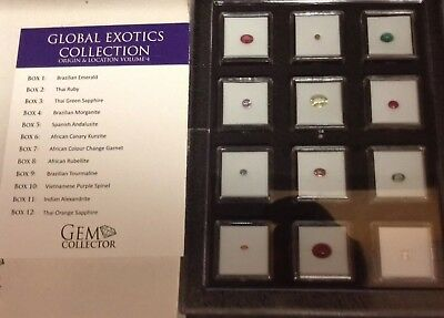 Gem Collector Global Exotics Collection