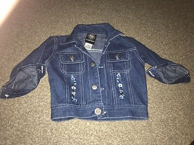 Girls Denim Jacket 9-12 Months