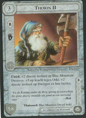 Middle Earth CCG - Thorin II - Limited Edition - NM - DUTCH!