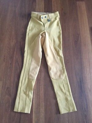 BNWOT Peter Williams Gold Show  Child's Jodhpurs Size 8
