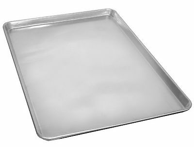 "Commercial Grade 18"" x 26"" Full Size Aluminum Sheet Pan for Baking Bread Cookie"