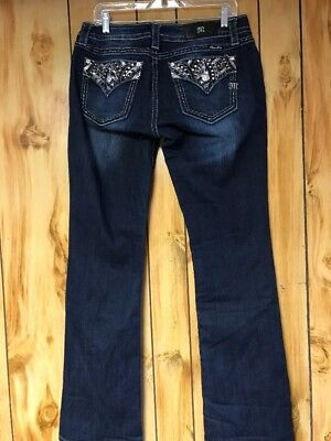 Miss Me Jeans Signature Boot 32 x 34 dark blue JP7213B New with tags