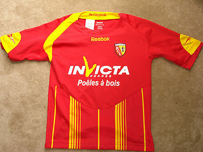 RC Lens Football Shirt size age 9-10 Years