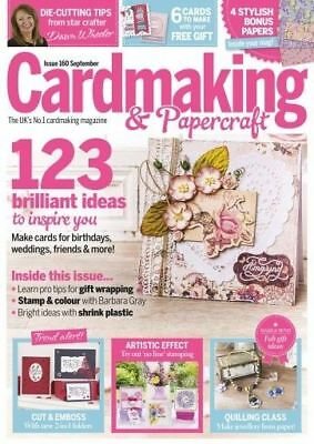 Cardmaking & Papercraft Magazine Issue #160 ~ Sealed Pack With Free Gift ~ New ~