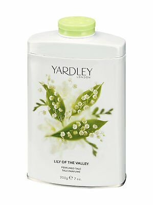 Yardley London Lily of the Valley Perfumed Talc 200g