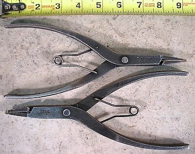 Snap-On Tools 2-Pc., Transmission Service, Snap Ring Plier Set : Srp1A, Srp3