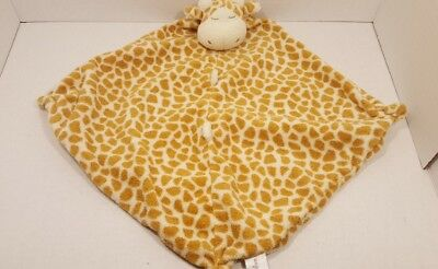 Angel Dear Brown/Yellow Giraffe Security Blanket Lovey