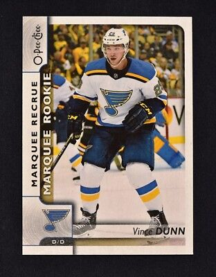 2017-18 UD Series 2 O-Pee-Chee OPC Rookie Update #635 Vince Dunn