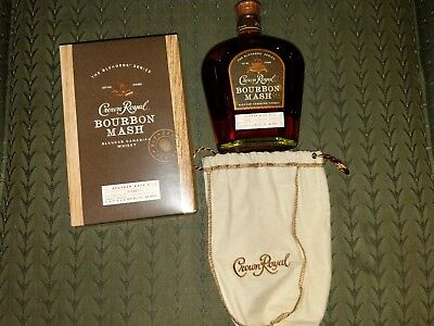 Crown Royal Bourbon Mash Limited Release Rare Collectable
