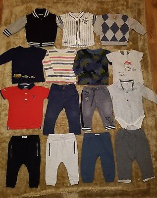 HUGE bundle 6-9 mth baby boys 100% NEXT clothes. Exc. cond. Joggers/tops/jeans