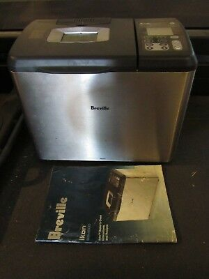 Breville Bread Maker Machine, BBM600, with manual