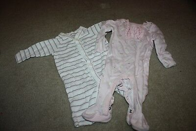 Lot of 2 Sleepers, Old Navy, Children's Place, Size 0-3 Month