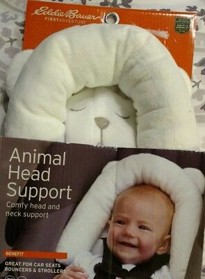 Eddie Bauer's Animal Head Support Great Baby Gift For This Price