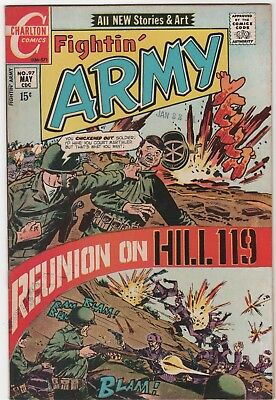 Fightin' Army  #97 In Very Fine/Near Mint Condition (May, 1971 Charlton)
