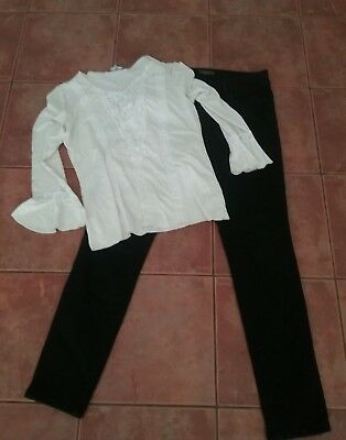 Ladies Jeans and top size 12
