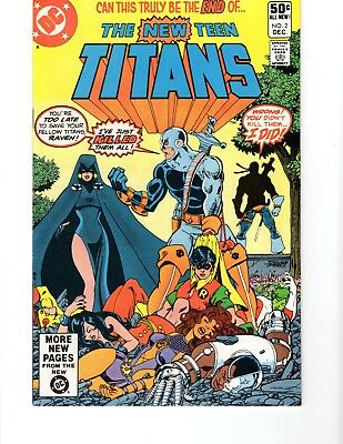 NEW TEEN TITANS #2 KEY ISSUE: 1st DEATHSTROKE 9.2 INVESTMENT