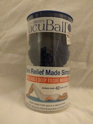 Dr. Cohen's acuBall Heatable Deep Tissue Massage Muscle & Joint Pain Relief