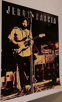 3 Jerry Garcia 16x20 color Winterland Productions Posters  - Quantity 3 Posters!