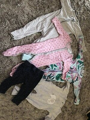 Girls Bodysuit And Leggings, Size 3-6months, Seed & Bonds