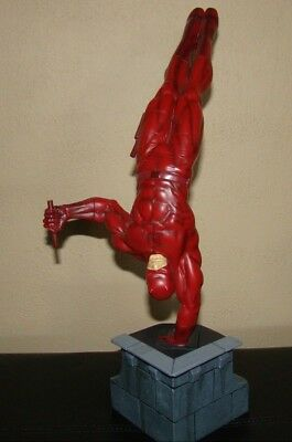 RARE 2007  Daredevil Collectible Statue  #615 of 1000  Sculpted by Seth Vandable
