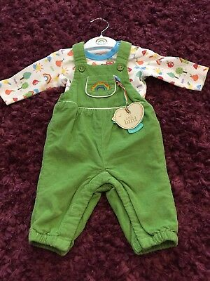 Little Bird dungarees and Bodysuit up to 1 month BNWT Jools Oliver