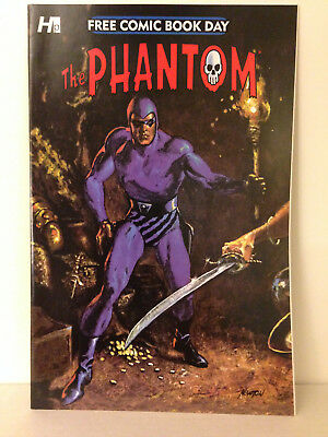 The Phantom Ghost Who Walks 2015 Free Comic Book Day No Stamps No Stickers
