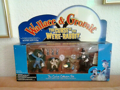 Wallace and Gromit NEU! The Carrot Collector Set von McFarlane