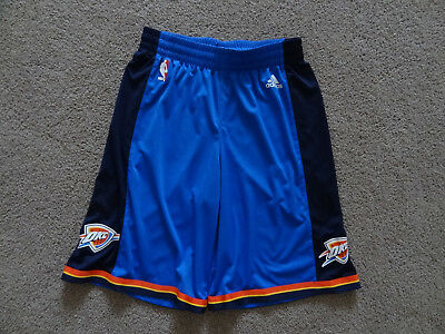 Youths Adidas OKC Thunder NBA Shorts - Size 15-16Y, Excellent Condition.