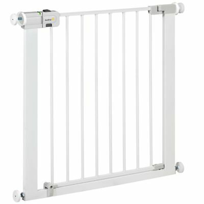 S#Puerta de Seguridad Easy Close 73 cm Metal Valla Protección Safety 1st 2475431