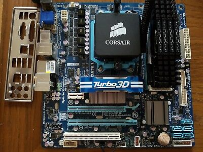 AMD Phenom II X6 1090T with motherboard and RAM