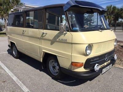 1979 Mercedes-Benz N1300 -- 1979 Mercedes-Benz N1300  21000 Miles Tan Van 4 Cyl Manual