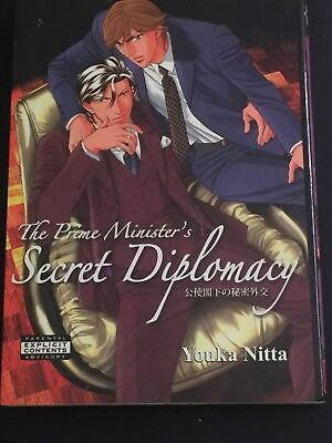 The Prime Minister's Secret Diplomacy (Yaoi) by Youka Nitta  - Gay Interest