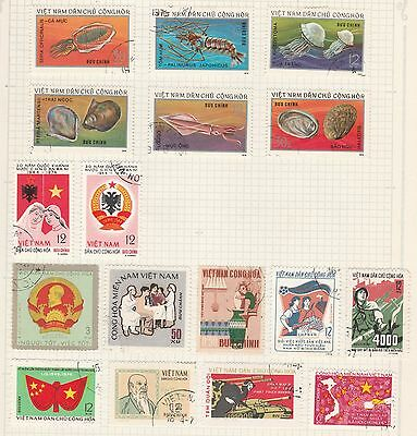 VIETNAM COLLECTION Ocean Creatures, WAR,  etc on Old Book Pages #