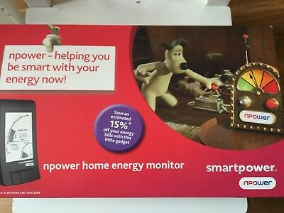 Smartpower - Npower Home Energy Monitor For Use With All Energy Suppliers