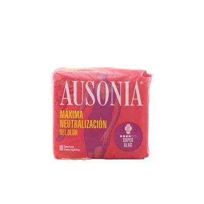 Ausonia Super Plus With Wings Sanitary Towels 10 Units Women